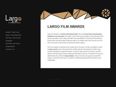 Social Media Assistant of LARGO FILM AWARDS