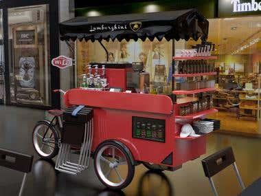 cafe bicicleta