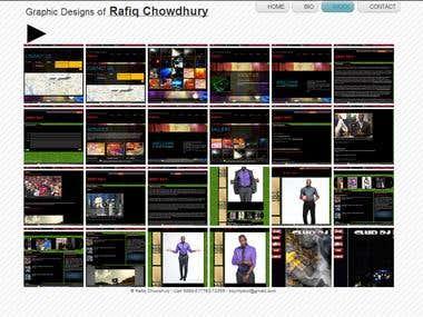 Portfolio Design in Wix | HTML5