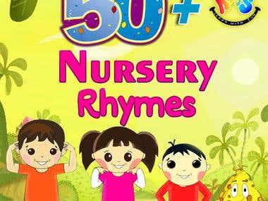 50+ Nursery Rhymes mobile app