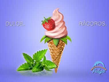 Ice Cream Banner