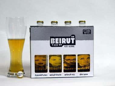 Beer Re-packaging+Design