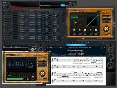Music Player (VSTI, midi sampler)