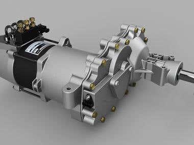 48volt hydro gear zero turn drive
