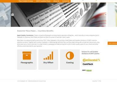 Daetwyler Elastomer Genesis WordPress Responsive