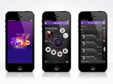 Jamit - iphone music player