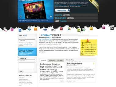 Rocking Graphics Homepage