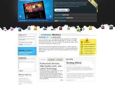 Rocking Graphics Homepage