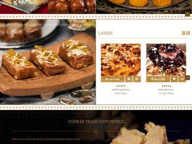Sweets website
