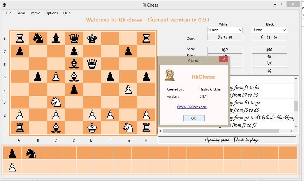 Chess Game in .NET Framework