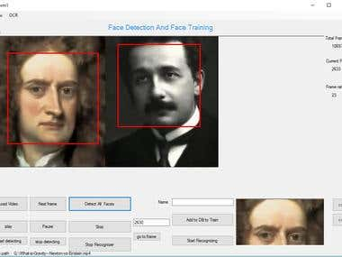 Face Detection and Recognition using .NET