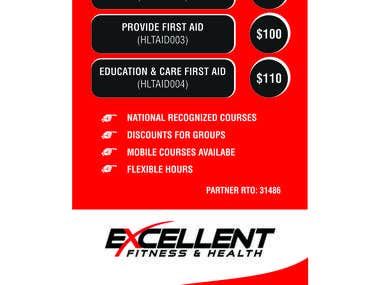 First Aid Flyer