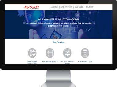 EySoft IT Solution- Company Website