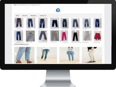 Apontex Apparels Limited- Buying House's Website