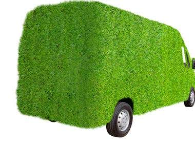 Grass vehicle