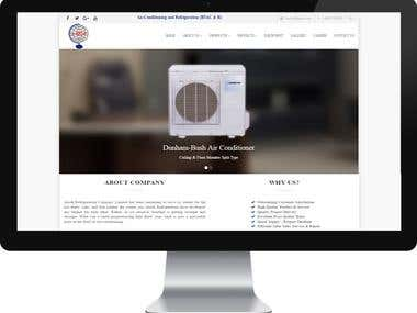 Alook Refrigeration Company Ltd- Commercial Website