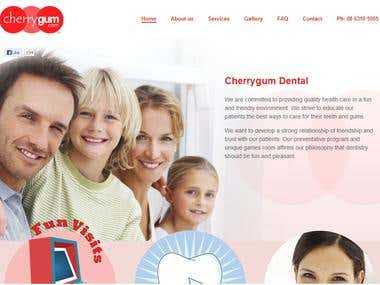 cheerygum web design