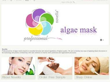Agile mask | eCommerce Website
