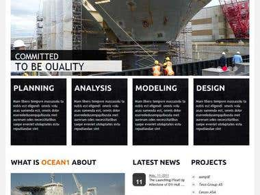 Ocean1 | Corporate Website