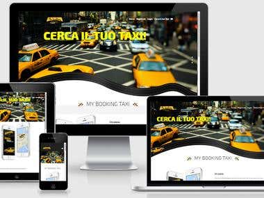 Web Application My Booking Taxi