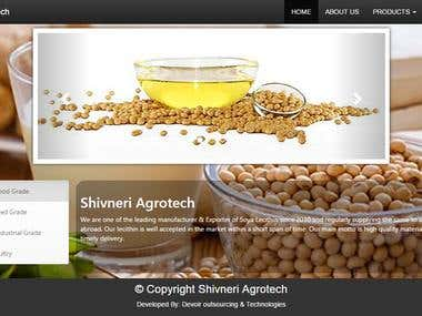 Website Design for agrotech