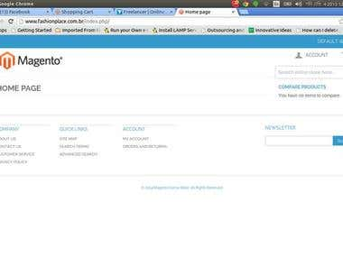 Magento ecommerce platform