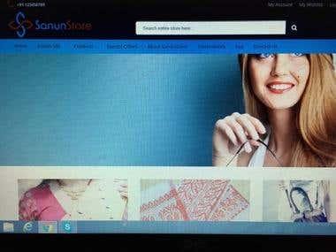 Sanun Store (Magento E-Commerce Store)