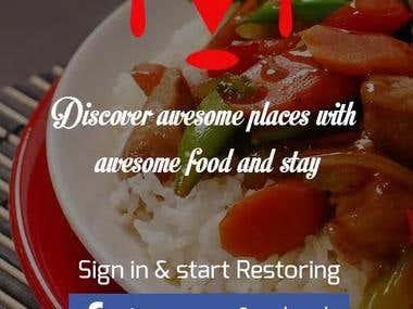 Restori (Restaurant Finding App)