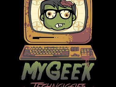 MyGeek Illustration