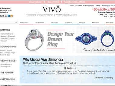 Diamonds ECommerce