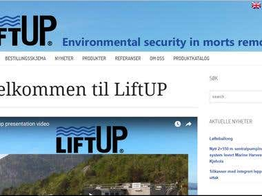 Liftup Website