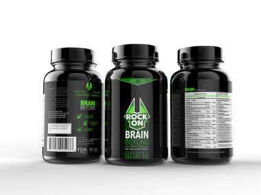 Packaging Design a Supplement Brand