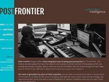 Post Frontier Web Site