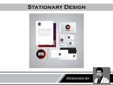 Logo + Business Card + Stationary
