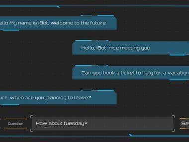 Futuristic Chat Bot