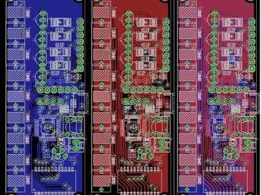 Motor and Sensor Board