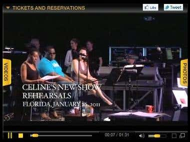 Celine Dion in Vegas