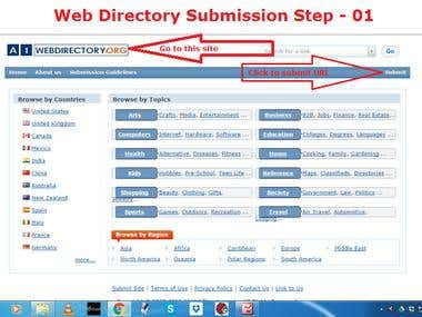 Demo Project on Directory Submission