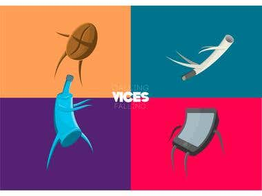VICES illustration