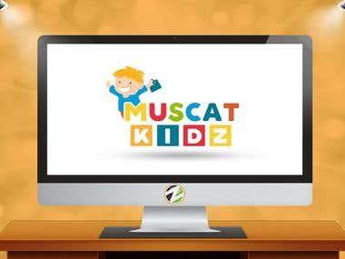 Muscat Kids Logo Design