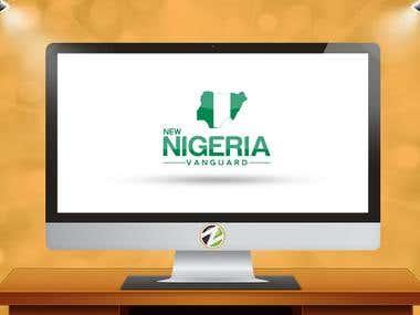 Nigeria vanguard Logo design
