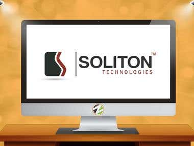 Soliton Logo Design