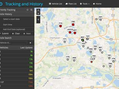 Real-time Vehicle Tracking and Fleet Management