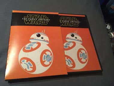 Star Wars DVD cover and Dust Jacket