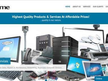 Netprime Homepage