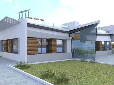 Minimalistic building
