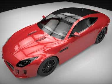 Car Modeling and Rendering