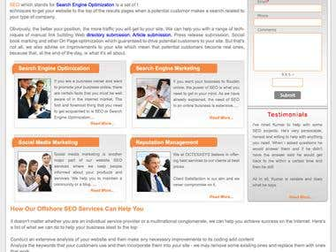 Website Template_Professional_PSD to HTML