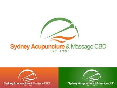 Logo design for Sydney Acupuncture and Massage CBD