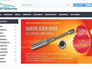 Dental Care E-commerce Website